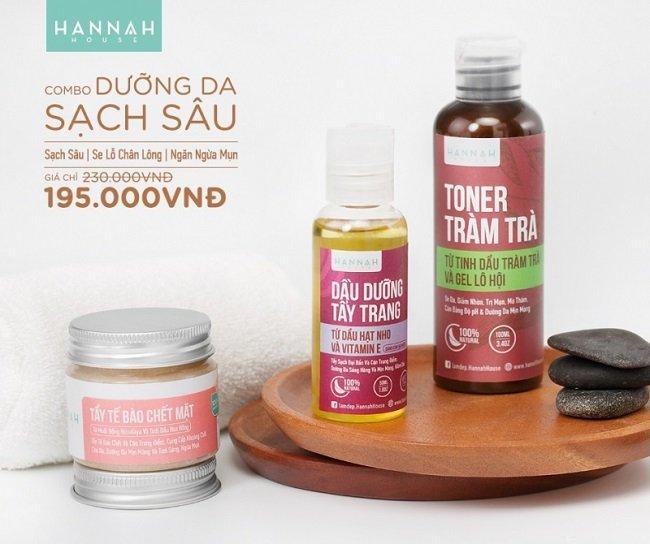 Hanah House là Top 5 Shop bán mỹ phẩm hữu cơ, thiên nhiên tốt nhất TPHCM