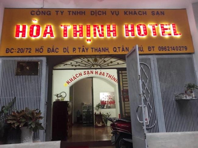 """Khách sạn Hòa Thịnh là Top 10 Khách sạn giá """"rẻ mà tốt"""" nhất Quận Tân Phú"""