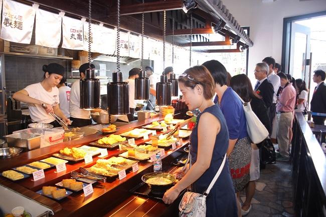 Marukame Udon là Top 20 Quán ăn ngon ở quận 1, TPHCM bạn nên đến nhất