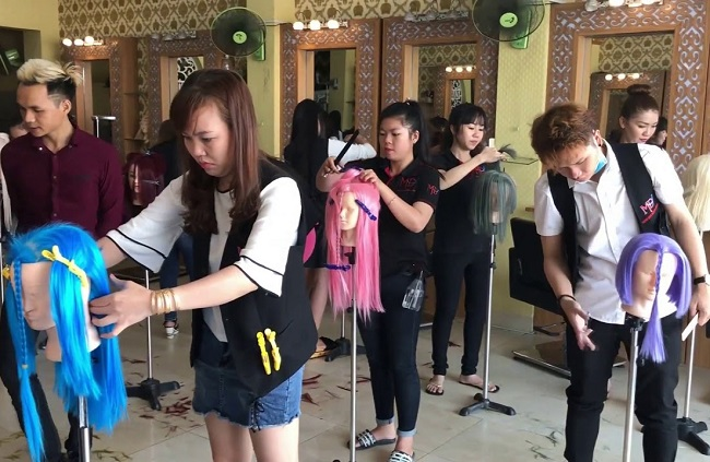 Minh Đan là Top 11 Trung tâm dạy nghề cắt tóc chuyên nghiệp nhất tại TPHCM