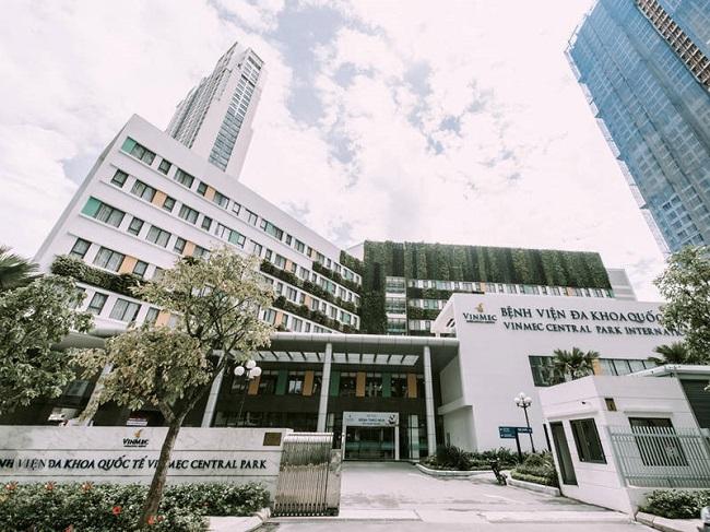 Bệnh viện đa khoa quốc tế Vinmec Central Park là Top 5 bệnh viện quốc tế chất lượng nhất tại Tp HCM