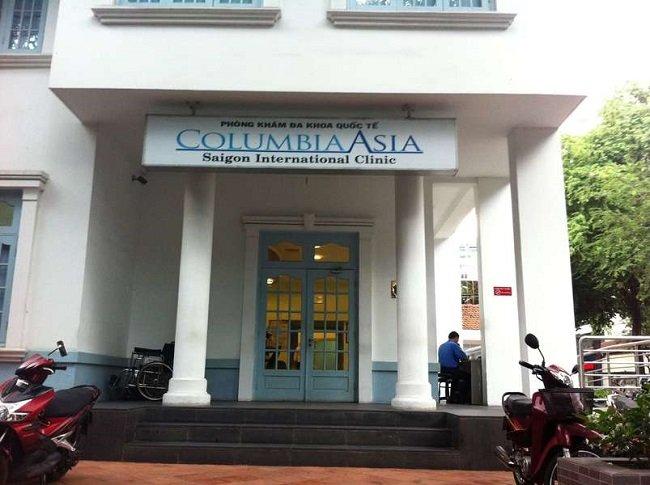 Phòng khám đa khoa quốc tế Columbia Asia Saigon là Top 5 bệnh viện quốc tế chất lượng nhất tại Tp HCM
