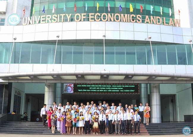 Trường Đại học Kinh tế - Luật là Top 6 Trường đại học đào tạo ngành kinh tế tốt nhất thành phố Hồ Chí Minh